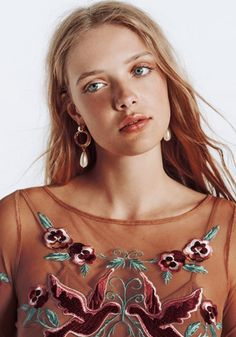 Charlotte Hansen - simple pretty makeup