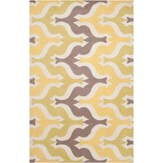 Aimee Wilder Rug in Yellow from Joss and Main.