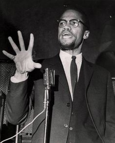 """""""We don't need anybody's permission to speak the truth"""" - Malcolm X"""