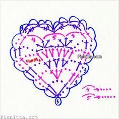 Crochet hearts |
