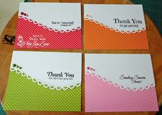 Designed by Marilyn Webb featuring the stamp Sincere Thanks from http://www.kraftinkimmiestamps.com/