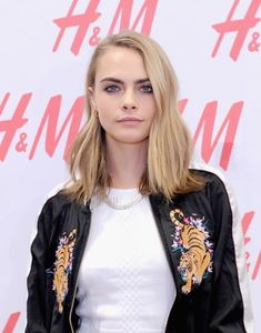 Cara Delevingne attends H&M and Cara Delevingne to celebrate the opening of a new location at Westfield World Trade Center at H&M on November 17, 2016 in New York City.