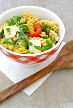 koude italiaanse pastasalade