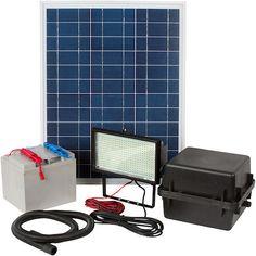 Greenlytes Commercial Solar Flood Light 336 LED  - http://solarlightssite.com/greenlytes-commercial-solar-flood-light-336-led/