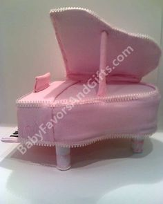 Baby Grand Piano Diaper Cake - 9990110 - Baby Girl - Diaper Cakes - by