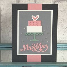 Wedding inspiration for handmade cards. Sizzix dies with a wedding theme perfect for cardmaking!