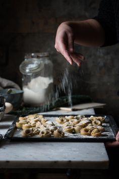 Tortelli di cavolo nero con fonduta al Castelmagno dop