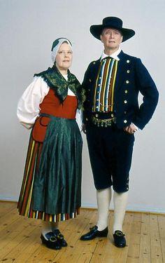 Pedersöre Pedersöre, Österbotten Folkdräkter - Dräktbyrå - Brage