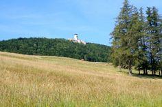 Blick auf die Araburg #BloggerPilgern #Mostviertel in Österreich #Niederösterreich