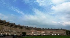 The Royal Crescent, Regency Bath... this place was awesome.