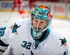 San Jose Sharks goaltender Alex Stalock (March 26, 2015).