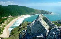 Praia da Lagoinha do Leste - Florianópolis - Santa Catarina - Brasil