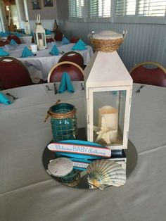 Surfer Boy - Baby on Board Baby Shower Party Ideas | Photo 1 of 10 | Catch My Party