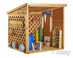 MUSIC CAVE(FEATURING CLASSIC COSY 'BEEFY TRELLIS') - Dens and Playhouses - Early Years - Cosy Direct