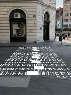 Crosswalk art