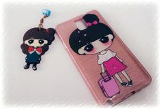 Cute lady phone casing... Travel style