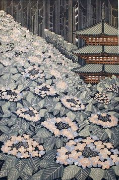 Morimura Ray, Takahata Fudo Hydrangea, 2009