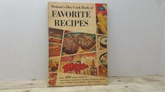 Womans Day Cook Book of Favorite Recipes, 1960, vintage cookbook by RandomGoodsBookRoom on Etsy