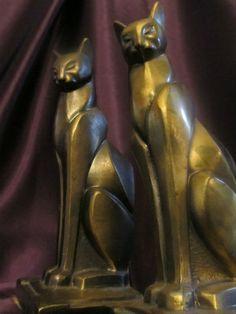 Art Deco Cat Bookends                                                                                                                                                                                 More