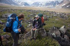 Trekking in Kuururjuaq, #Nunavik #Quebec. Experience travel to Quebec's north at opXpeditions Kuururjuaq: http://www.opxpeditions.com/kuururjuaq/