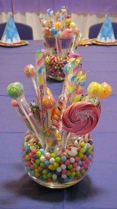 centros de mesa con dulces para mesas de 15 años (1)