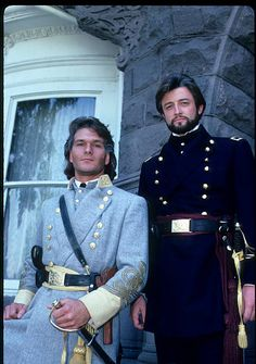 North and South Book II aired May 5 through 8 and It starred Patrick Swayze as Orry Main and James Read as George Hazard Patrick Swayze Movies, Perfect North, Civil War Movies, Image Film, Civil War Photos, Dirty Dancing, American Civil War, Vintage Hollywood, Favorite Tv Shows