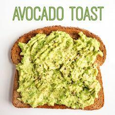 Avocado Toast Toppings (12 Recipe Ideas) | fANNEtastic food Healthy Breakfast Recipes, Breakfast Ideas, Healthy Snacks, Healthy Recipes, 12 Recipe, Recipe Ideas, Avocado Recipes, How To Eat Paleo, Baking Ideas