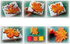 Maple Leaf quilling tutorial