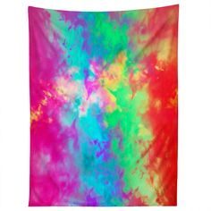 Caleb Troy Painted Clouds Vapors II Tapestry | DENY Designs Home Accessories