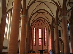 The Sacred Heart Church (German: Propsteikirche Herz Jesu) is the main Roman Catholic church in Lübeck. It was built in 1888 and consecrated on 10 May 1891.