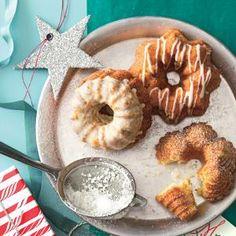 Buttermilk Bundt Cakes; variations- Cranberry Orange; Hummingbird with Bourbon Glaze