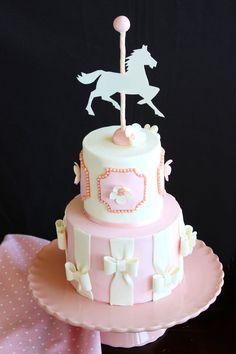 Paso a Paso Tarta Caballito de Carrusel Girl Birthday Themes, 2nd Birthday Parties, Baby Birthday, Birthday Cake, Cupcakes, Cupcake Cakes, Carousel Cake, Ballerina Cakes, Baby Shower Desserts