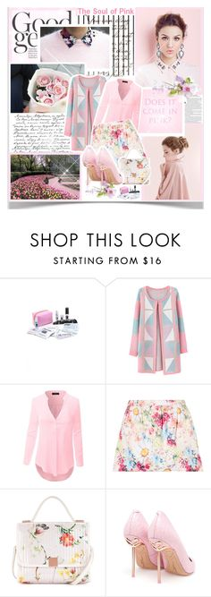 """""""The Soul of Pink"""" by winala ❤ liked on Polyvore featuring Forum, Pinch Provisions, Chicnova Fashion, Doublju, Ted Baker and Sophia Webster"""