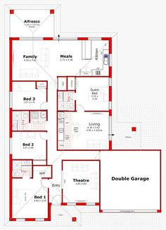 Discover our entire range of Dual Occupancy House Plans designed for the Perth metro area . We offer Double Storey and house behind house special purpose duplex style designs. Modern Bungalow House Design, Duplex Design, Small House Design, Loft Design, House Layout Plans, Family House Plans, Dream House Plans, Duplex Floor Plans, House Floor Plans