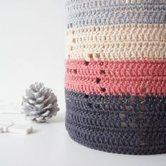 Hæklede adventslysestage // Crochet for christmas