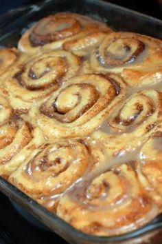 Absolutely Sinful Cinnamon Rolls ~ Oh mercy!!