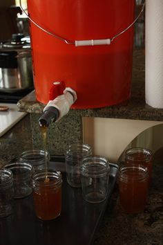 DIY Honey separator