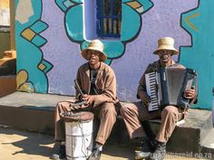 Music on a tour of the Basotho Cultural Village at Golden Gate Highlands National Park
