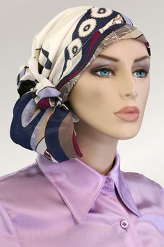 $34.50 - Go-Go Girl Calypso Headscarf     #cancer #chemo #alopecia #hair loss