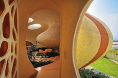 Nautilus House: Unique Shell Shaped House by Arquitectura Organica