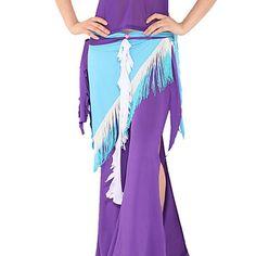 Dancewear Spandex With Tassels Belly Dance Belt for Women(More Colors) – USD $ 19.99