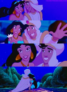 A whole New World - Song Dylan and I walked down the asle to after we were married <3