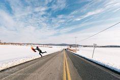 Sledding by JERM_COHEN