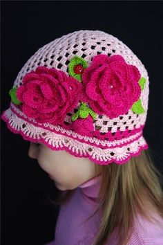 crochet hat ~ Inspiration