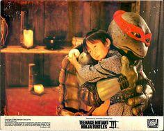 Raph got a hug from Yoshi