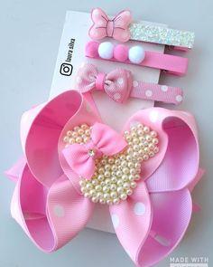 Diy Ribbon, Ribbon Hair, Ribbon Crafts, Diy Baby Headbands, Baby Bows, Making Hair Bows, Diy Hair Bows, Princess Hair Bows, Rainbow Loom Charms
