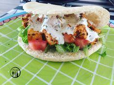 Broodje kip kebab