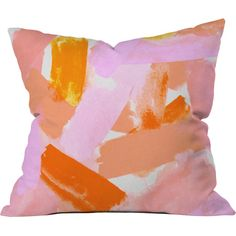 Covered in Blush Pillow