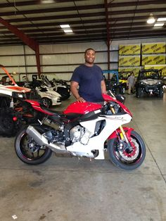 Thanks to Derek Lacy from Byram MS for getting a 2016 Yamaha R1 at Hattiesburg Cycles
