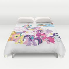 Details About Custom Duvet Cover Or Blanket Bedroom Decoration Follow Theme  Add Photo Image. My Little Pony ...
